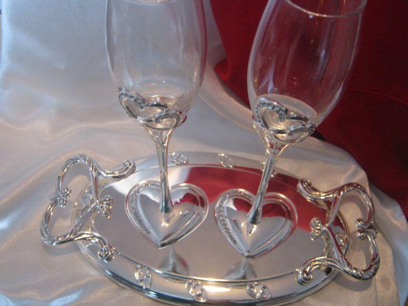 Бокалы для свадьбы минск